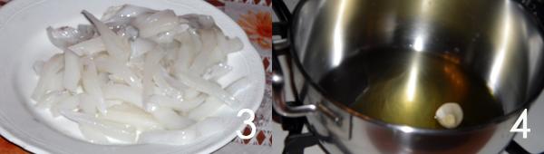 aglio e olio Lasagne di pesce