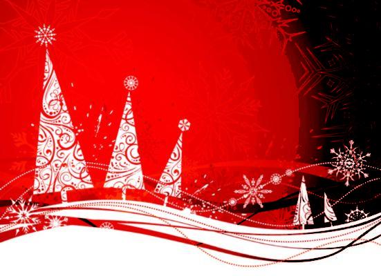 Cartoline di natale rosse simpatica idea per fare i for Cartoline di auguri per natale