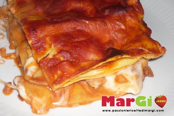 lasagne con pesce Lasagne di pesce