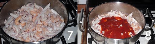 sugo di pesce Lasagne di pesce