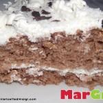Torta cioccococco allo yogurt e panna