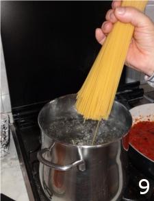 9 Spaghetti con polpa di astice, primi piatti raffinati