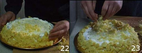 dolci veloci 22 23 Torta mimosa, ricetta con foto e video