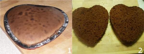 torta san valentino 1 2 Torta a forma di cuore per San Valentino