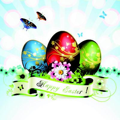 5 Biglietti auguri di Pasqua