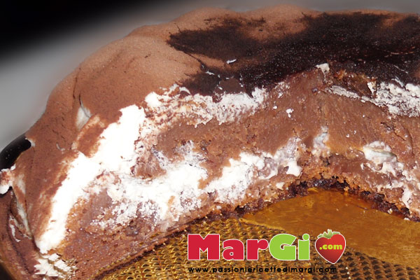 torta con yogurt e cacao