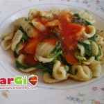 orecchiette con rucola