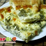 torta salata con carciofi