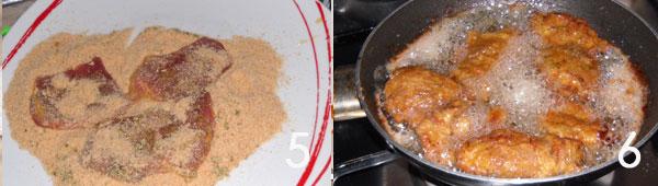 tacchino fritto1 Straccetti gustosi di tacchino con origano