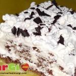 Pasta biscotto senza uova al cioccolato per rotoli buonissimi