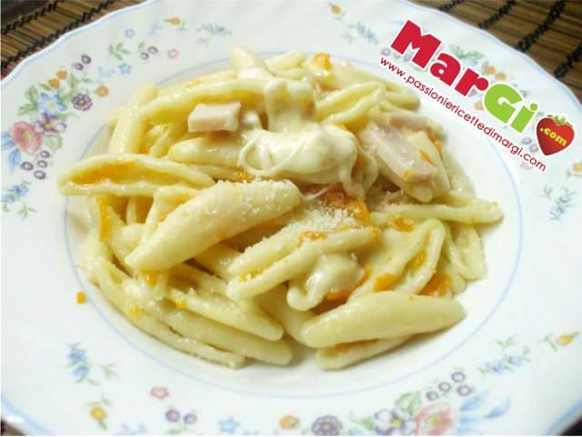 pasta con zucca 2 Pasta con zucca