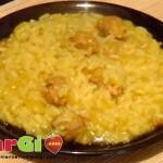 Ricetta risotto allo zafferano e salsiccia