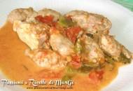 Pollo e salsiccia in umido