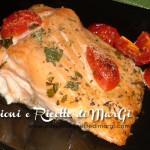 Salmone al forno con zenzero