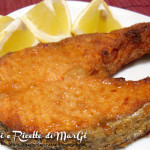 Salmone gratinato al forno