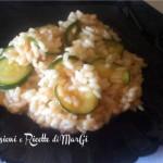 risotto con zucchine