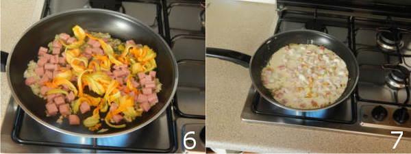 fiori di zucca e panna 6 7