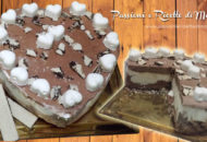 torta gelato con wafer