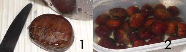 castagne tagliate