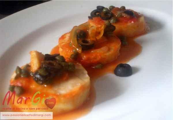 Medaglioni di merluzzo secondo piatto di pesce for Secondi piatti di pesce