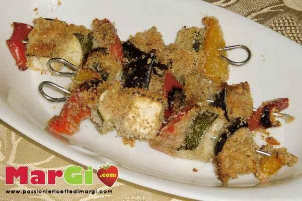 verdure panate al forno