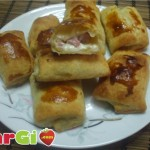 Ricette rustici con pancetta e mozzarella, antipasti sfiziosi