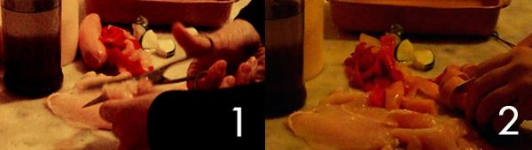 pollo-e-wurstel