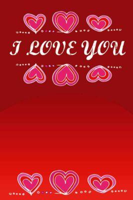 cartolina san valentino romantica