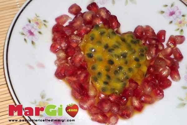 dessert passion fruit e mangustan