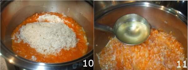 risotto con zucca