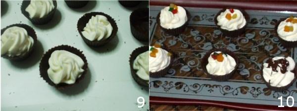 dolci con cioccolato fondente