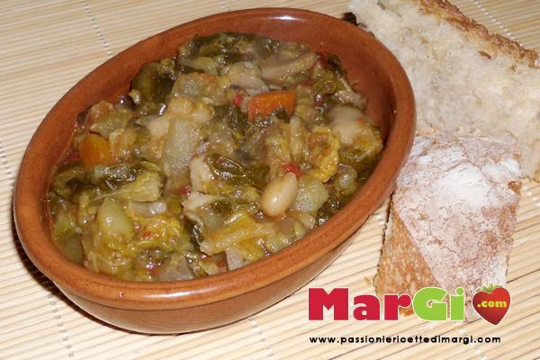 minestrone di verdure fresche