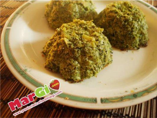 sformatini di broccoletti e ricotta