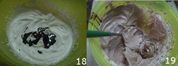 torta con cioccolato