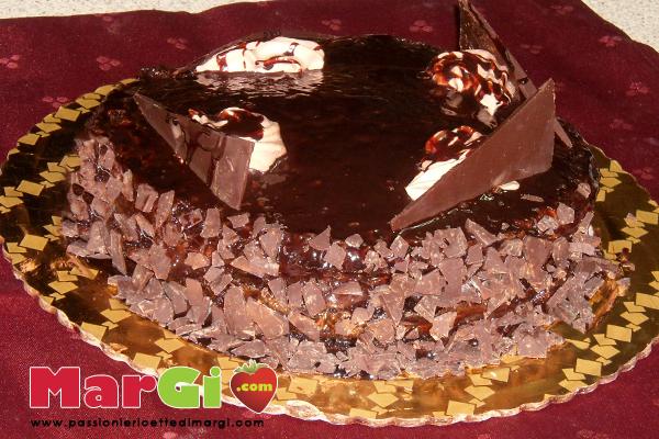 torta con copertura lucida
