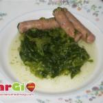 Salsiccia con le cime di rapa, secondi piatti semplici