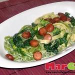 tagliatelle-wurstel-e-spinaci