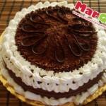 torta con nutella e mascarpone