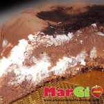 torta con yogurt e cacao