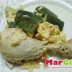 pollo con zucchine
