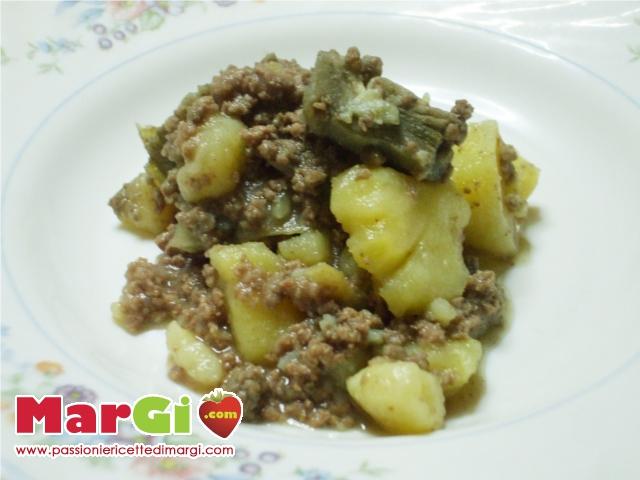 Famoso Carciofi con carne macinata e patate PS58