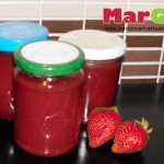 Marmellata di fragole fatta in casa