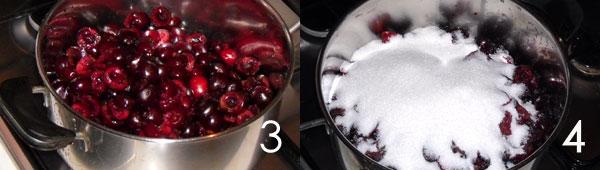 preparare le ciliegie