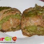 Rotolo di asparagi e salsiccia