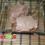 gelato al cioccolato fondente
