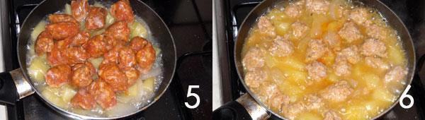 padella-salsiccia