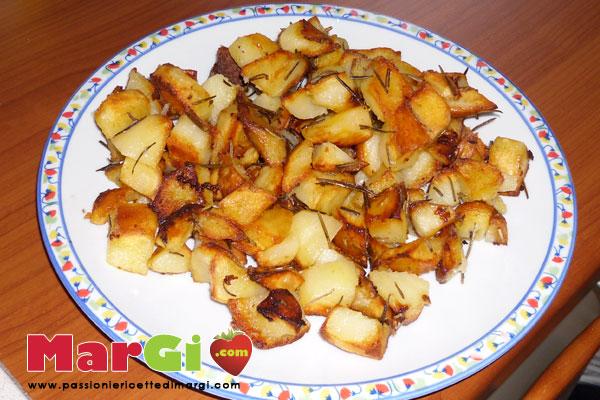 Contorno di patate in padella