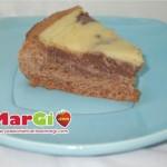Crostata cioccolato e crema pasticcera