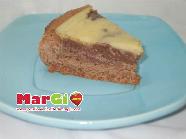 crostata di cioccolato e crema pasticcera