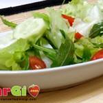 insalata cetrioli e pomodori